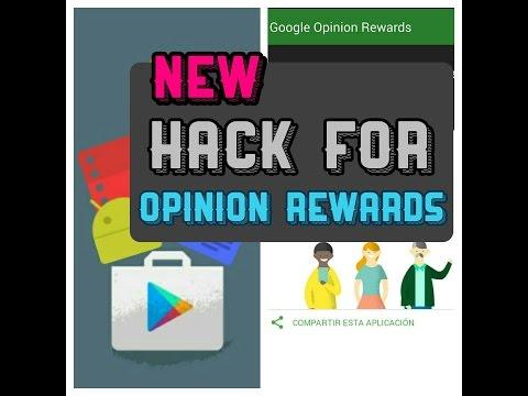 Hack de Google Opinion Rewards (May) 2016