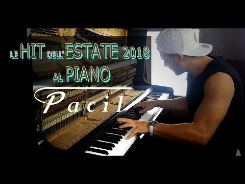 LE CANZONI DELL' ESTATE 2018 SUONATE AL PIANO
