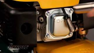 How-To Replace the Spark Plug on a Walk-Behind Lawn Mower - Lawn Mower Maintenance