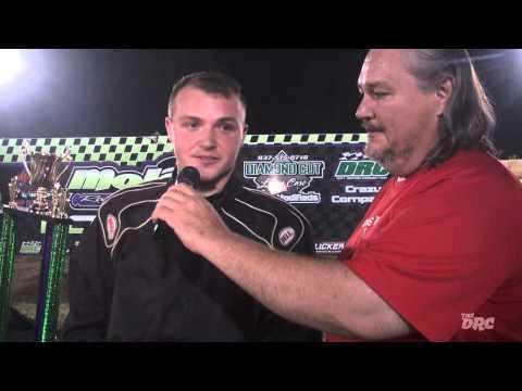 Moler Raceway Park | 7.31.15 | The DRC Crazy Compacts Feature Winner | Blake Gibson