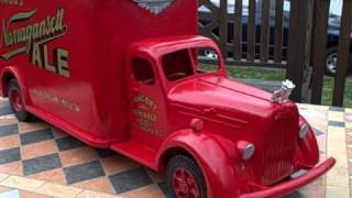 1940 Mack Truck With Narragansett Beer All Wood Handmade
