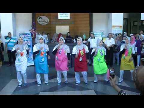 Senam Cuci Tangan VK Bersalin RSUD Ulin Banjarmasin