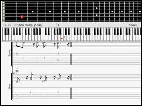 Tool - Intermission - Piano Sheet Music Guitar