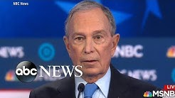 Michael Bloomberg joins Democrats in first debate appearance in Nevada | Nightline