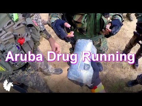 Drug Running in Aruba! (Aruba Airsoft Adventures) Airsoft Gameplay at Hot Triggers