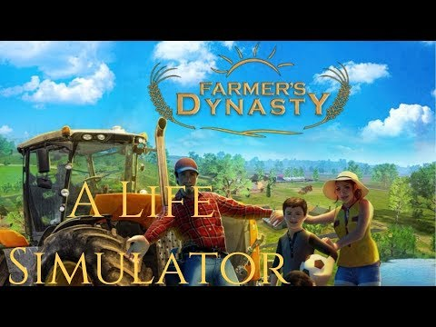 Farmer's Dynasty | #2 | Jack Bear Tractor | Plowing | Cultivating | Tomatoes |