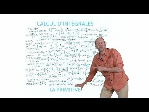 Calcul d'intégrales : la primitive