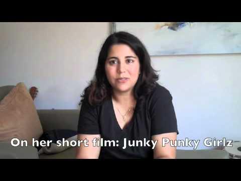 with Filmmaker, Nisha Ganatra