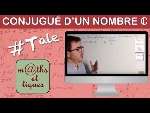 Determiner Le Conjugue D Un Nombre Complexe Terminale Maths Expertes Youtube