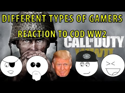 Different Types of Gamers Reaction to CoD WW2