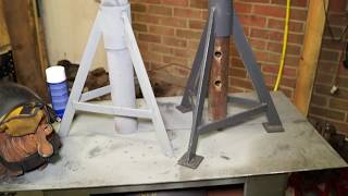 LRTV VLOG 4- Heavy Duty  Axle Stands - The making of