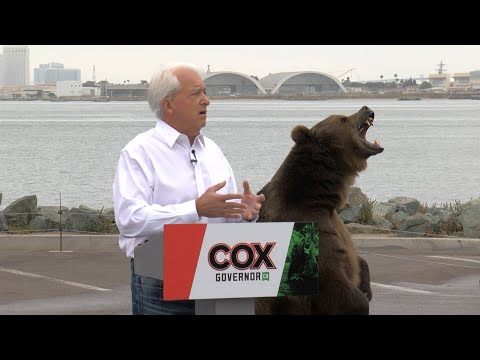 John Cox Bringing Bear Back to Campaign Trail in San Diego