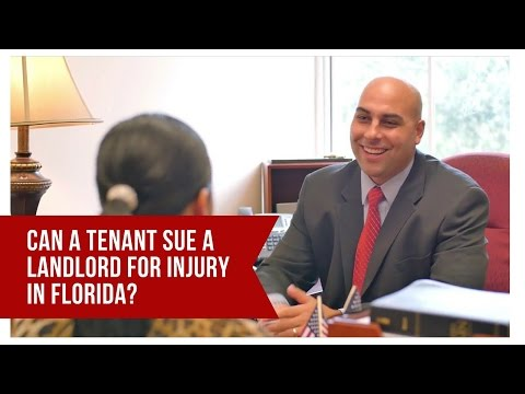 Can a Tenant Sue a Landlord For Injury In Florida?