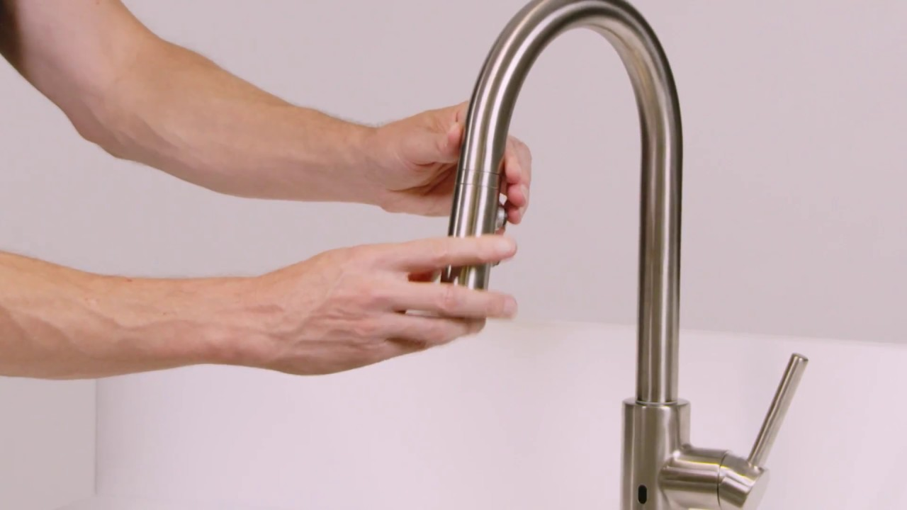 Modern Touch Free Faucets Kitchen Illustration - Water Faucet Ideas ...