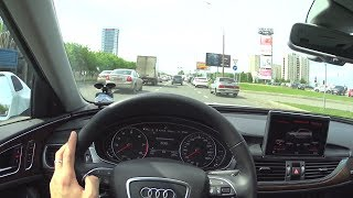2017 Audi A6 (C7) 2.0 Tfsi Quattro S Tronic Pov Test Drive