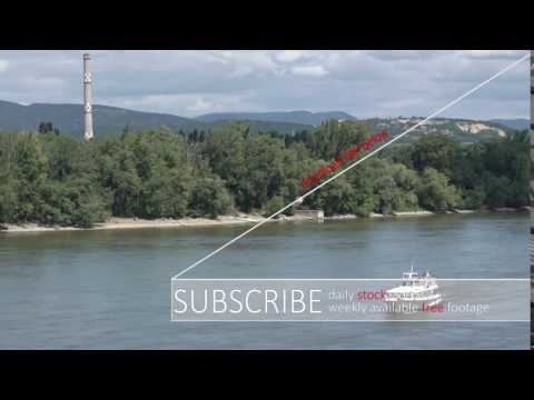 River Danube - STOCK FOOTAGE - STOCK VIDEO