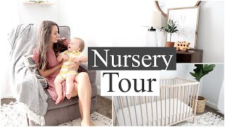 NURSERY TOUR 2019 // BABY BOY NURSERY REVEAL // Simply Allie