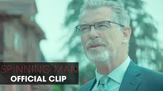 "Spinning Man (2018 Movie) Official Clip ""Routine"" – Pierce Brosnan, Guy Pearce, Minnie Driver"