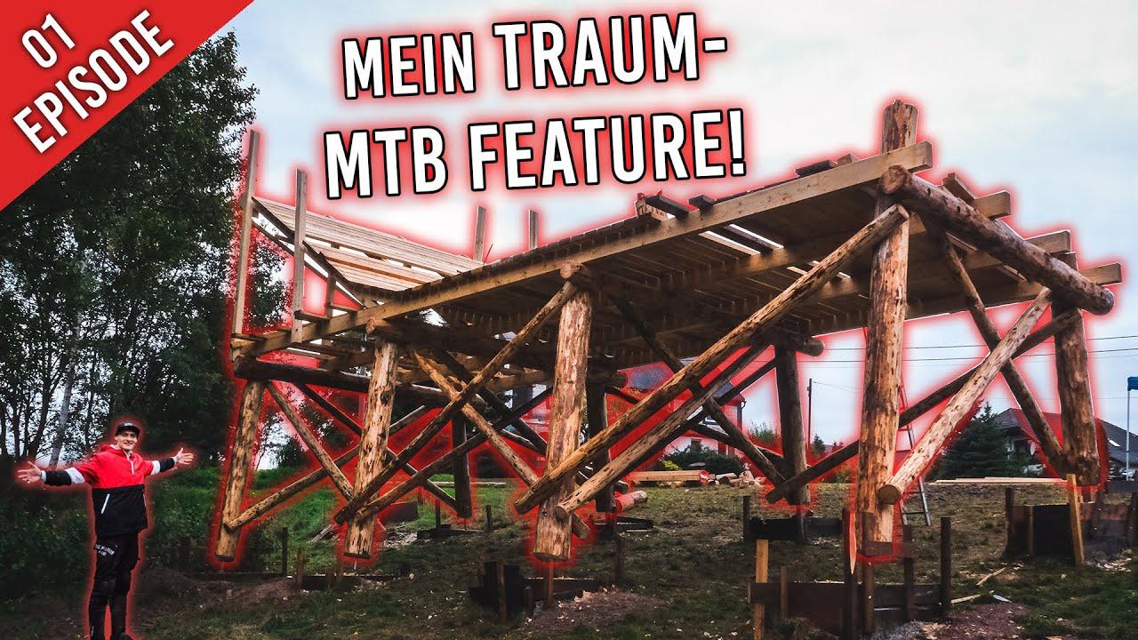 Wir bauen mein TRAUM SLOPESTYLE MTB FEATURE! | Build Vlog 1