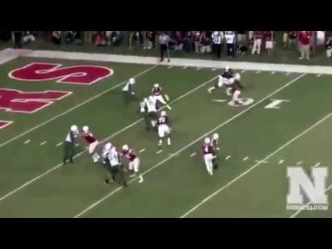 Nebraska football best hits catches sacks and highlights