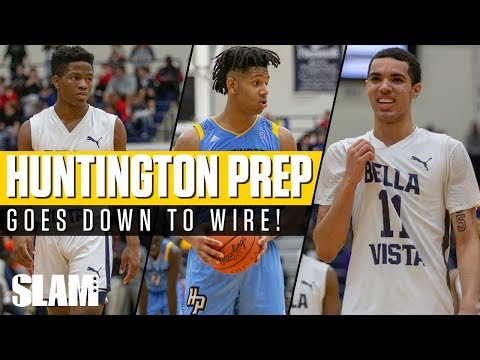 Huntington Prep & Bella Vista Prep goes down to the WIRE! Flyin' to the Hoop ✈️