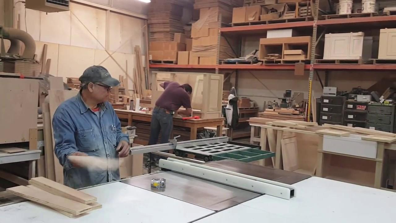 Humming Bird Woodworks - Custom Cabinet Fabrication - YouTube