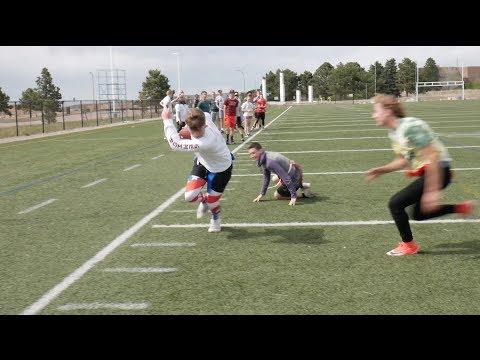 2018 TCA College Pathways JUNIOR vs. SENIOR Flag Football Game