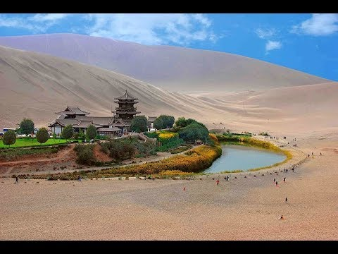 Our Trans Mongolian Railway & China trip Part 9 Gobi Desert and no toilet 3 June 2010 Vlog 287