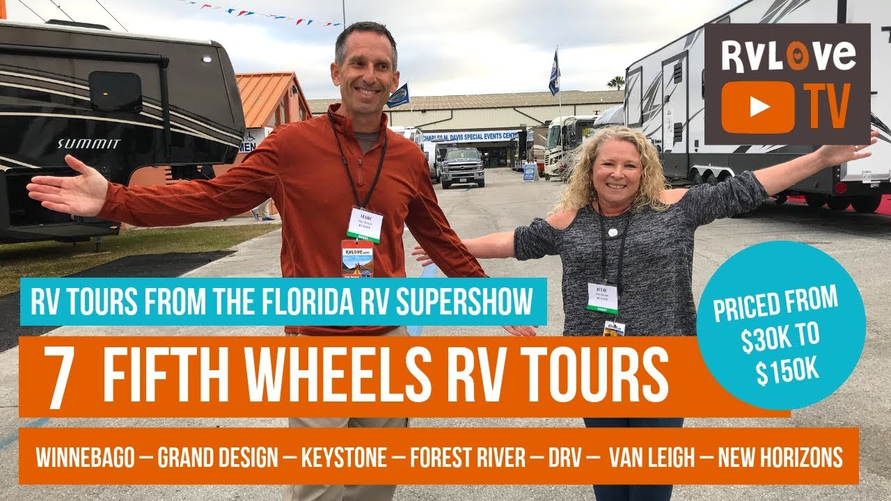 Tour 7 Fifth Wheels From $30K to over $150K – Winnebago