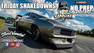 "SHAKEDOWNS FROM CAROLINA NT ""NO PREP ALL STARS"" AT PIEDMONT DRAGWAY!!!!!"