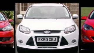New Ford Focus vs VW Golf vs Vauxhall Astra -  Auto Express