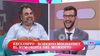 Roberto Moldavsky hizo reír a todo el panel de DDM