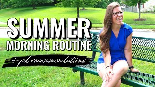 Day in the Life | My NEW Summer Morning Routine + PD Recommendations for Teachers