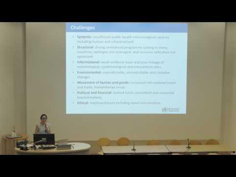 Anna Drexler (World Health Organisation): Vector control response to Zika - pathways for new tools