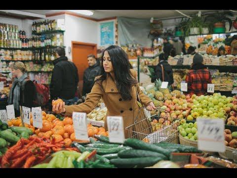 Dushanbe fruit Market tajikistan Рынок фруктов в Душанбе  Таджикистан