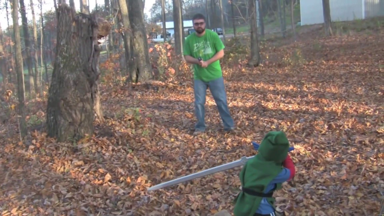 3 Year Old Zelda Fan Surprised With Master Sword