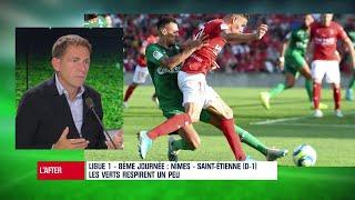 """Nîmes-ASSE : """"Saint-Etienne, c'était vraiment pas bon"""" lâche Riolo"""
