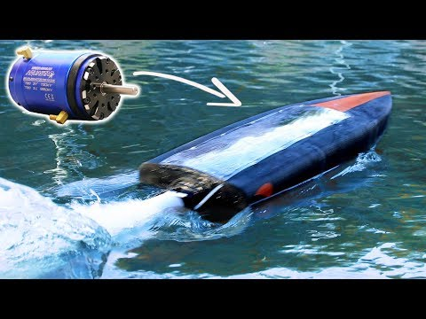 5000W Motor In a 3D Printed Jet Boat