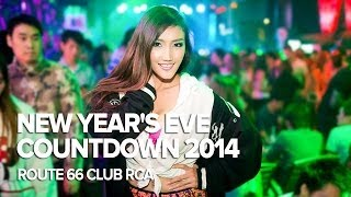 Bangkok Countdown 2014 At Route 66 Club Rca
