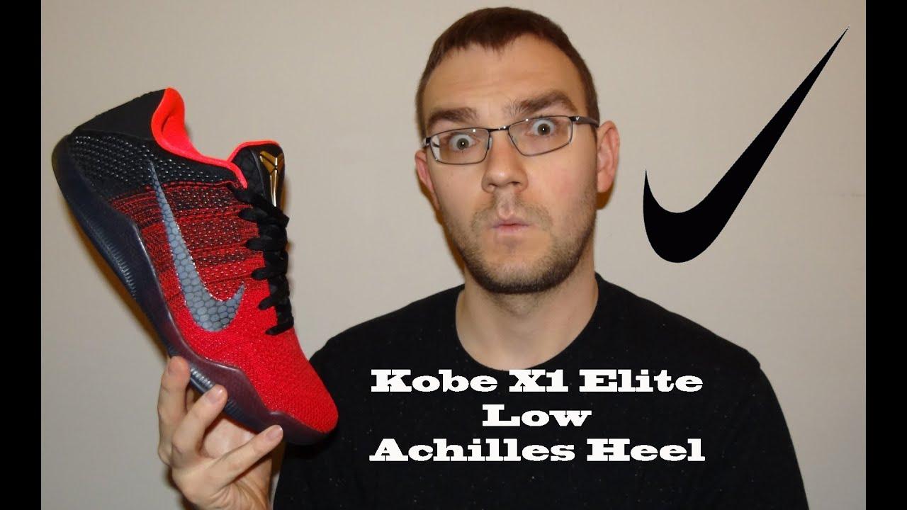 best service 75179 129b8 Nike Kobe XI (11) Elite Low Achilles Heel Review