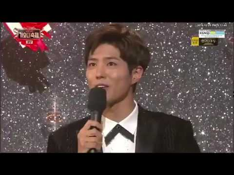 Park Bo Gum Sing A Song Don't forget Of Crush