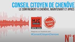 [Radio Confinement] #1 Témoignage du Conseil Citoyen de Chenôve