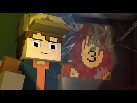 Minecraft Gravity Falls Animation - Finding The Journal