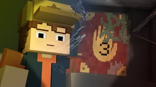Finding The Journal | Minecraft Gravity Falls Animation