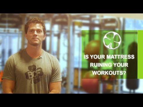 Omaha Fitness I How Your Mattress Affects Your Workouts