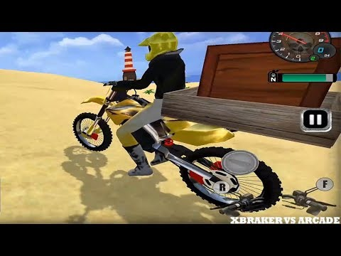 Beach Moto Racing Stunt Game 2018 Transport Mode - Android GamePlay FHD