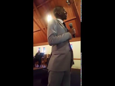 Terry D. Houston II at Assured Faith C.O.G.I.C. Pt. 2