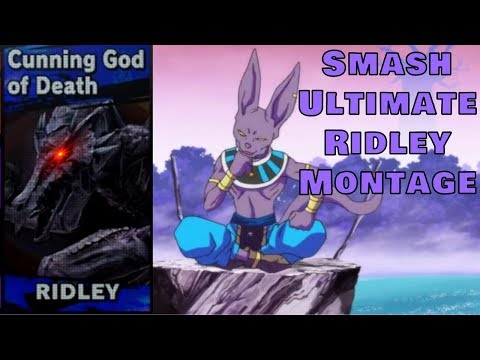 """rIdLeY iS bAd"" (Smash Bros. Ultimate Montage) thumbnail"