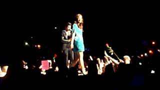 """Demi Lovato & Joe Jonas """"Wouldn't Change A Thing"""" Camp Rock 2 Tour Chicago - August 7, 2010"""