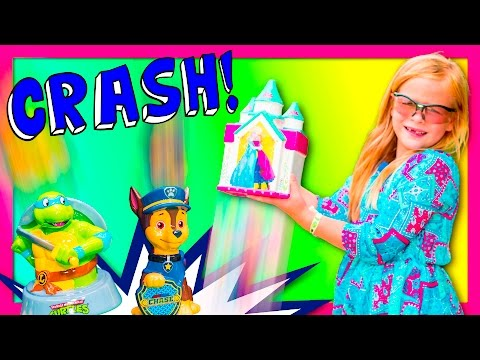 ASSISTANT SURPRISE Piggy Banks Secret Life Of Pets With Paw Patrol Funny Kids Video